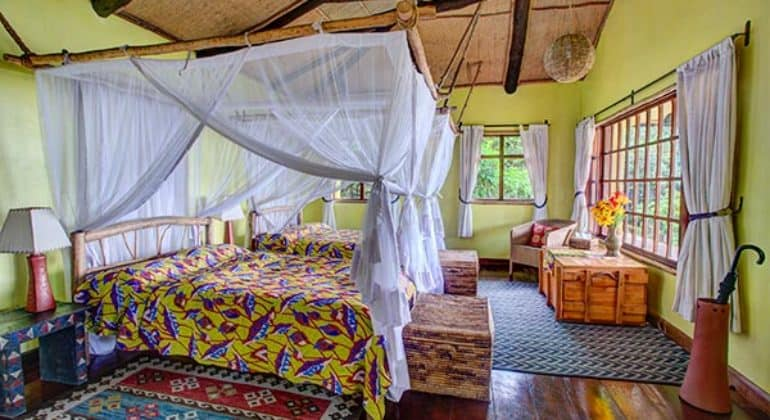 Virunga Lodge Bedroom 1