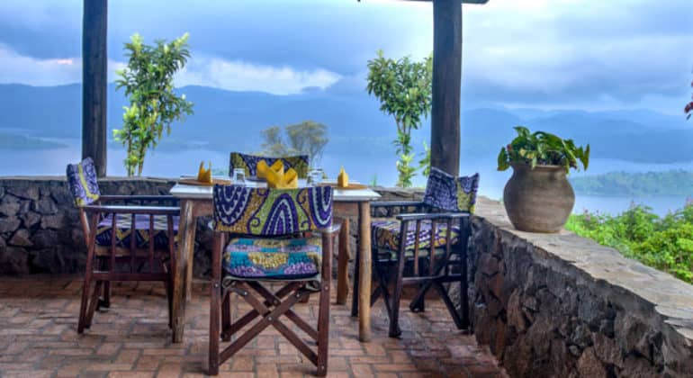 Virunga Lodge Sitting