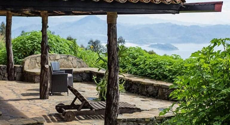 Virunga Lodge Terrace
