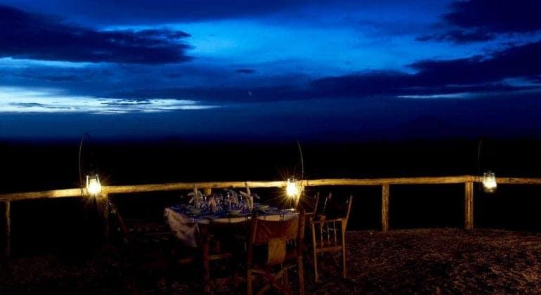Kambi Ya Tembo Dinner