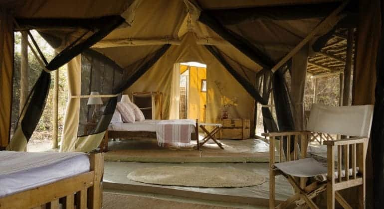 Kigelia Ruaha Tent Interior