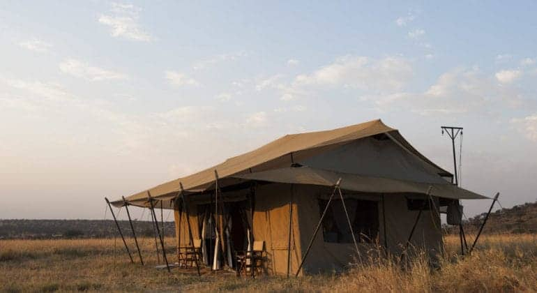 Mara Under Canvas Tent View