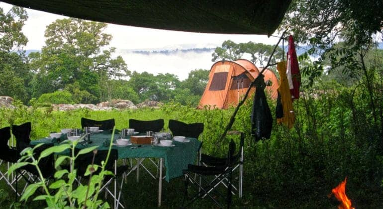 Masai Trails And Jan's Camp Tent