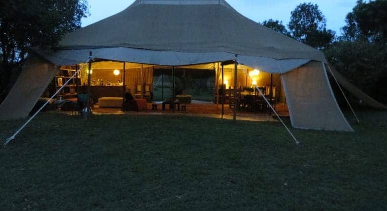 Masai Trails And Jan's Camp View 1