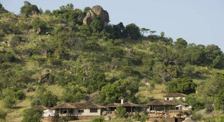 Mkombe's House Lamai View 1