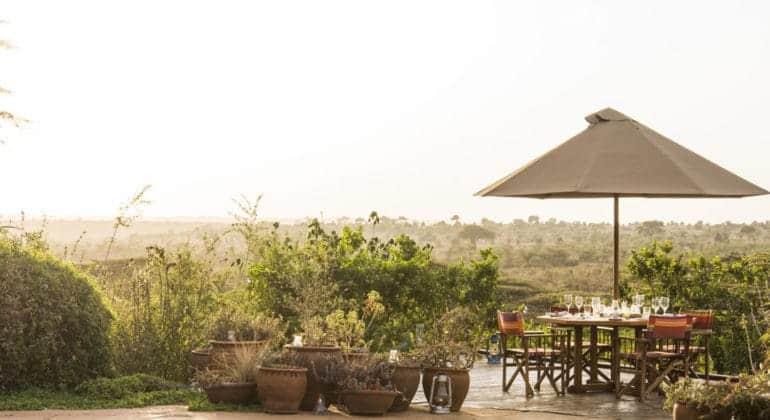 Ololo Safari Lodge View From Lodge