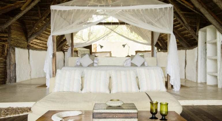 Sand Rivers Selous Bedroom