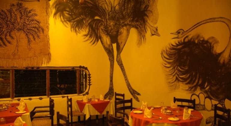 Amboseli Serena Safari Lodge Dining