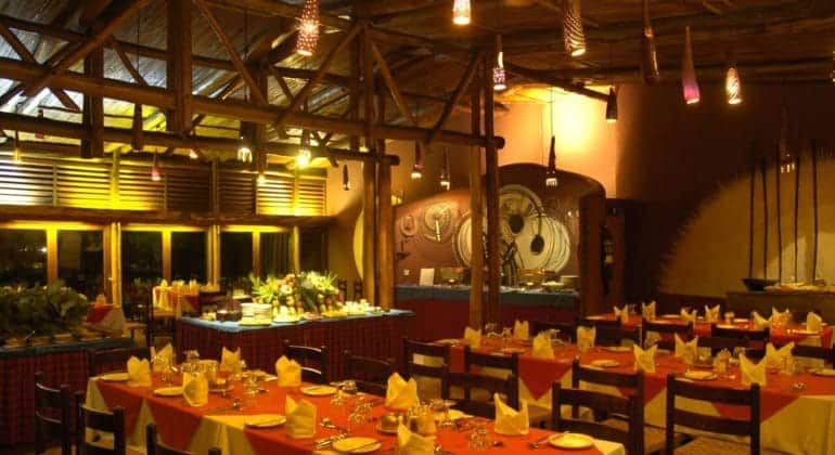Amboseli Serena Safari Lodge Dining Room