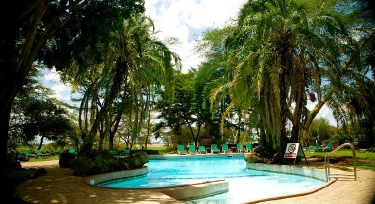 Amboseli Serena Safari Lodge Pool