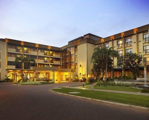 Kigali Serena Hotel Entrance