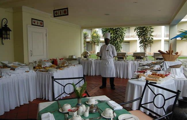 Lake Kivu Serena Hotel Dining