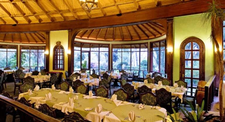 Lake Naivasha Sopa Lodge Dining Room