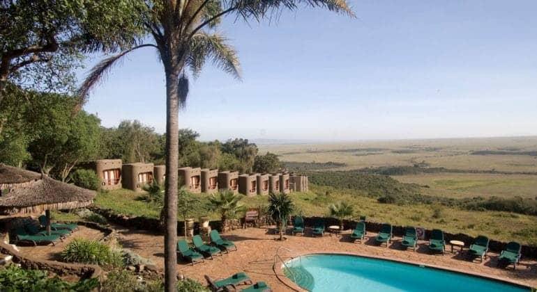 Mara Serena Safari Lodge Poolside