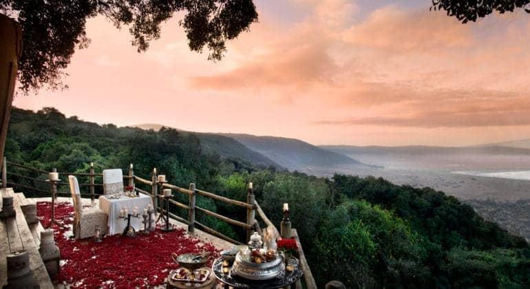 Ngorongoro Serena Safari Lodge Deck