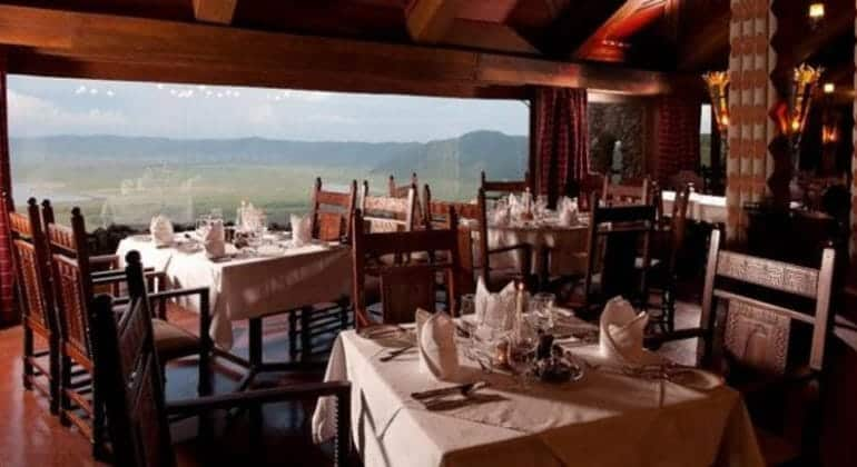 Ngorongoro Serena Safari Lodge Dining