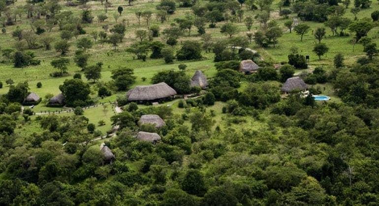 Semliki Aerial View
