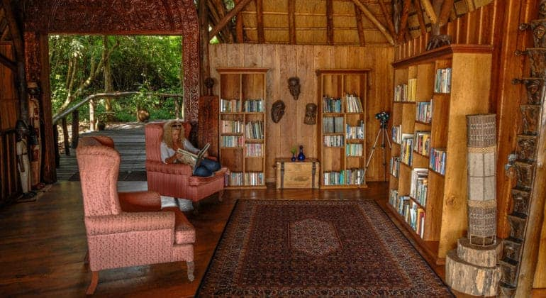Wildwaters Lodge Library