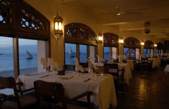 Zanzibar Serena Hotel Dining
