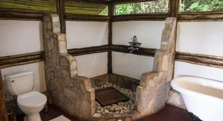 Buhoma Lodge Bathroom 1