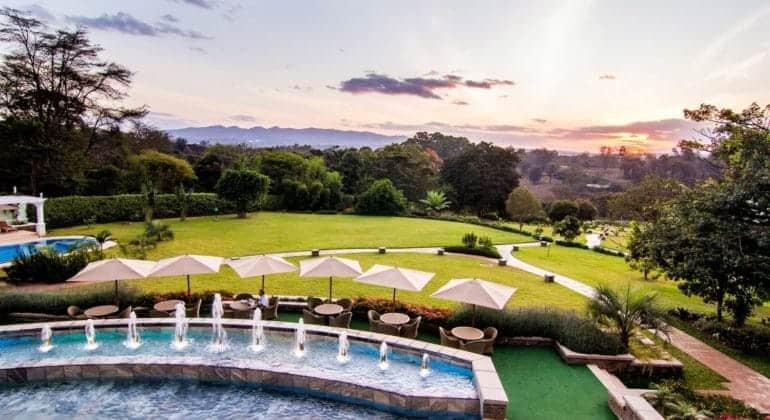 Hemingways Nairobi Pool And Garden