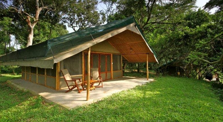 Ishasha Wilderness Camp Tent
