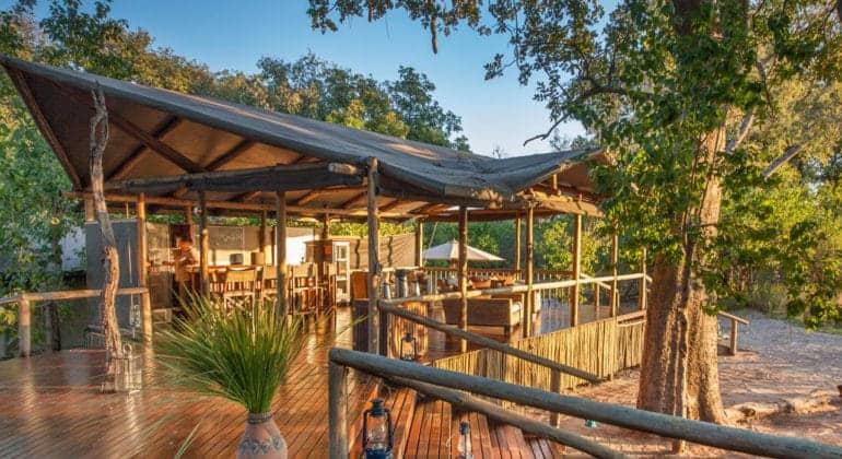 Kwando Little Kwara Camp Bar And Lounge