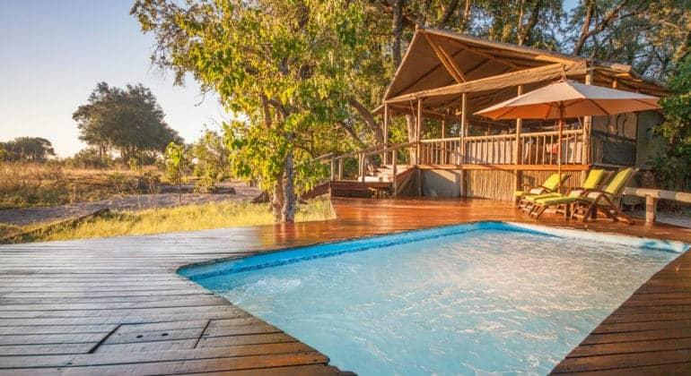 Kwando Little Kwara Camp Pool