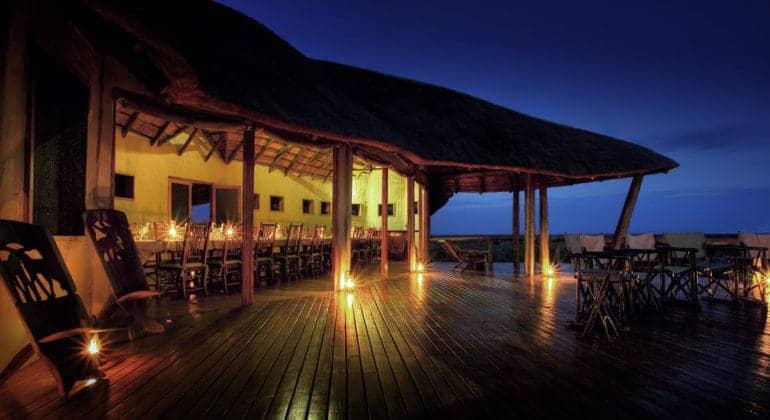 Kwando Tau Pan Camp Bar