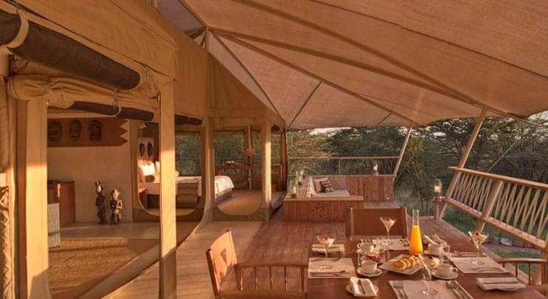 Mara Bushtops Dining