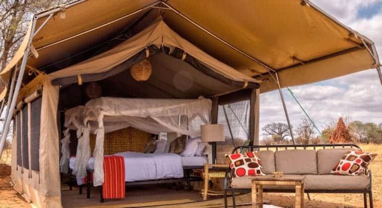 Tarangire Ndovu Camp Tent View