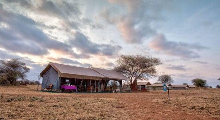 Tarangire Ndovu Camp View