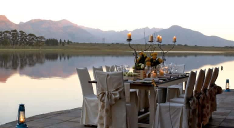 Bartholomeus Klip Farmhouse Outdoor Dining