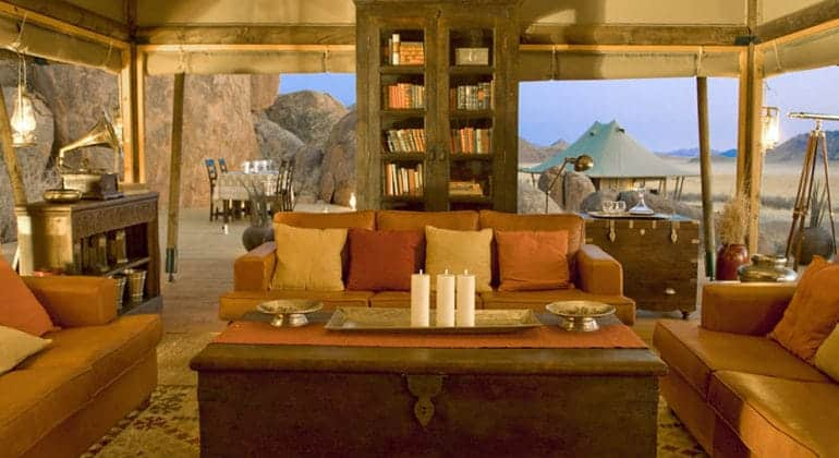 Boulders Safari Camp Lounge