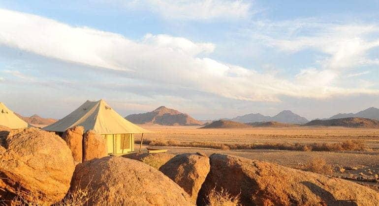 Boulders Safari Camp Tent Exterior