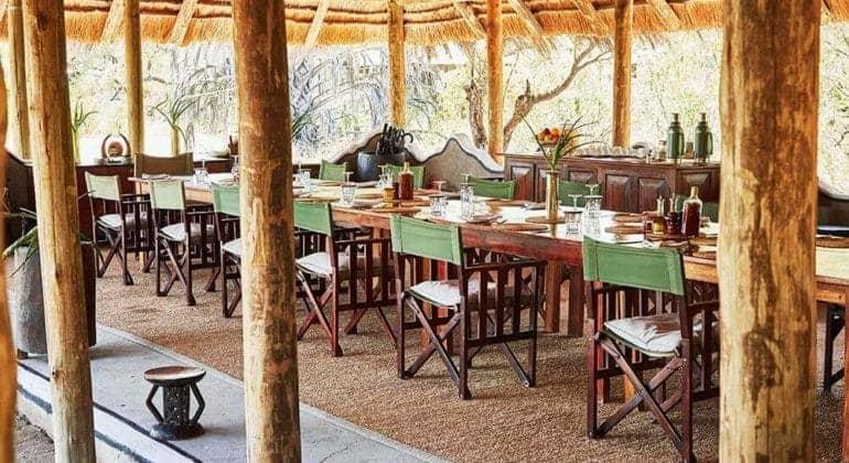Camp Kalahari Dining
