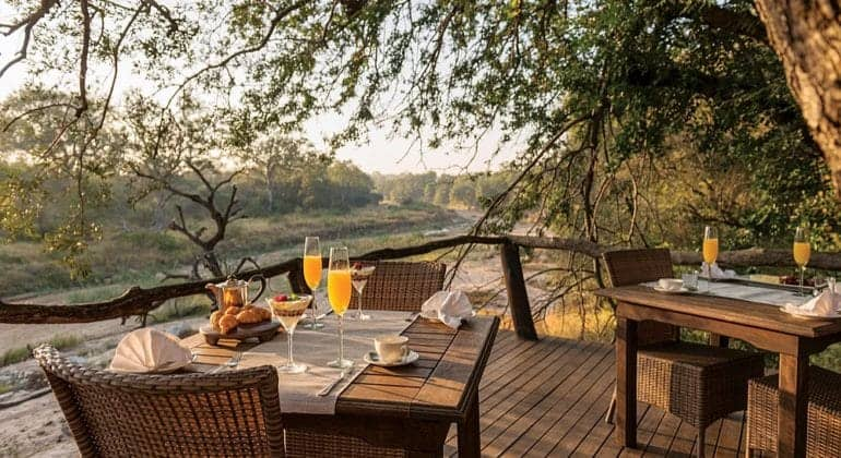 Dulini Lodge Breakfast