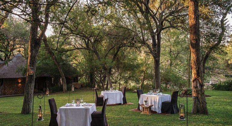 Dulini Lodge Dining