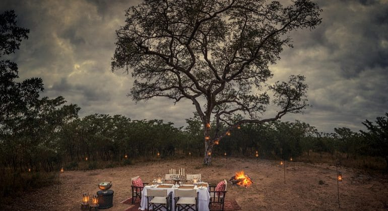 Dulini Lodge Outdoor Dining 1