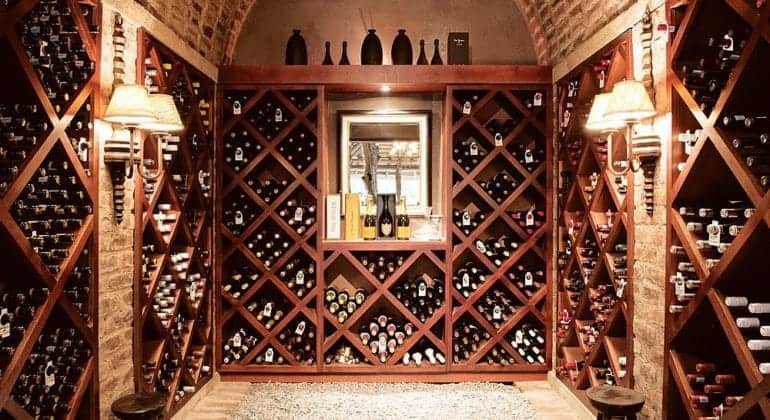 Dulini Lodge Wine Cellar