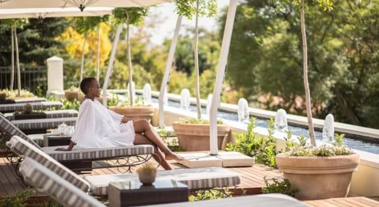Four Seasons Hotel The Westcliff Poolside