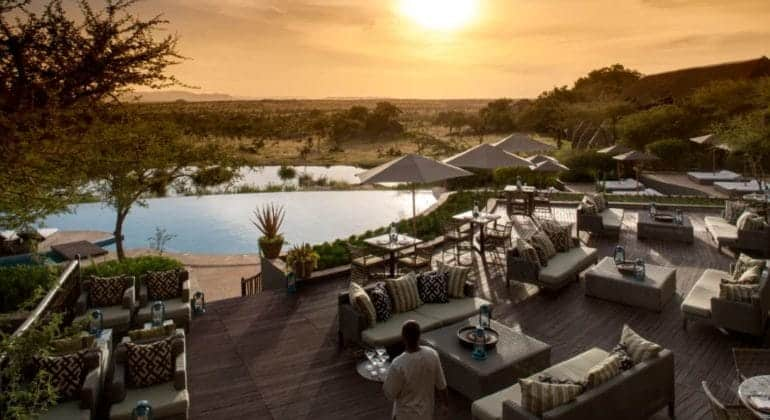 Four Seasons Serengeti Outdoor Dining