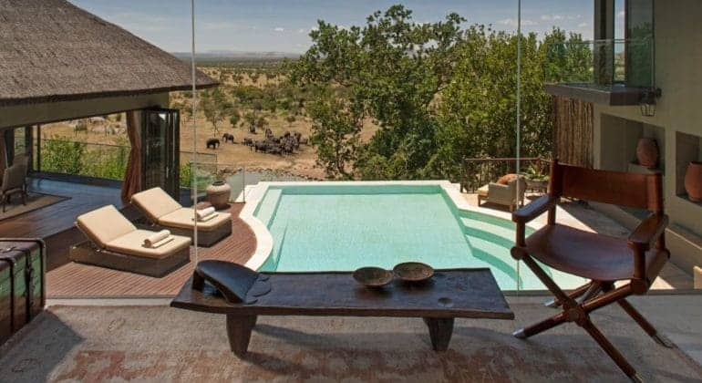 Four Seasons Serengeti Pool 1