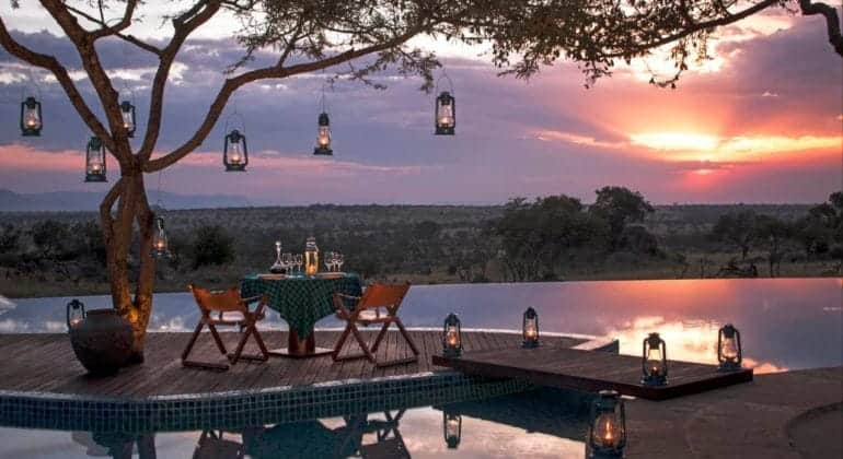 Four Seasons Serengeti Poolside