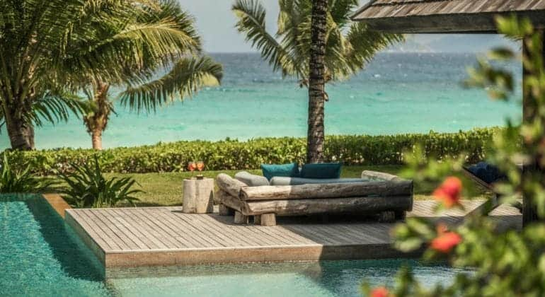 Four Seasons Seychelles Poolside