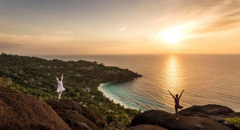 Four Seasons Seychelles Yoga