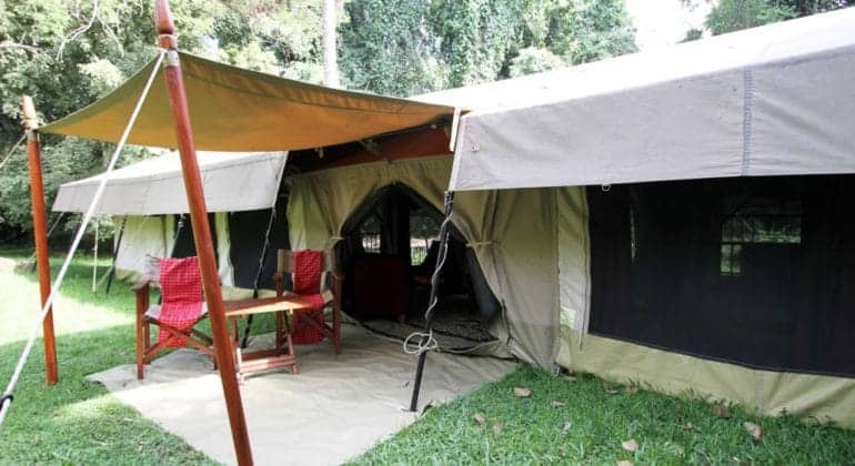 Intimate Camps Family Tent Exterior