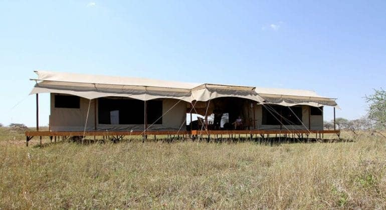 Siringit Serengeti Camp Family Tent
