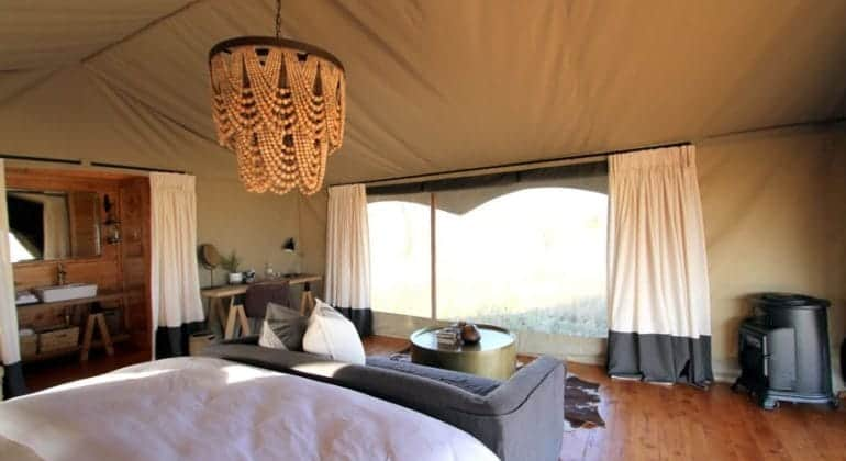 Siringit Serengeti Camp Honeymoon Tent