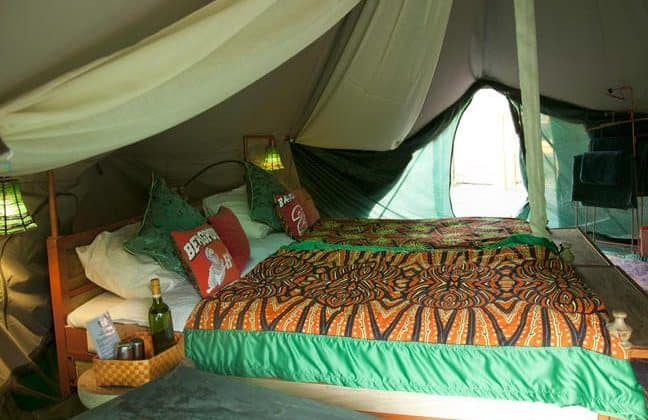 Wayo Manyara Green Camp Bedroom Tent